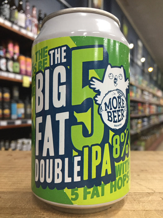 Uiltje The Big Fat 5 Double IPA 330ml Can