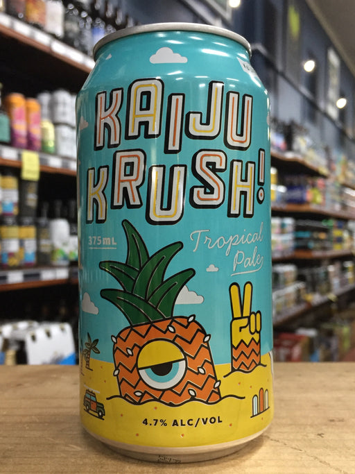 Kaiju Krush Tropical Pale Ale 375ml Can