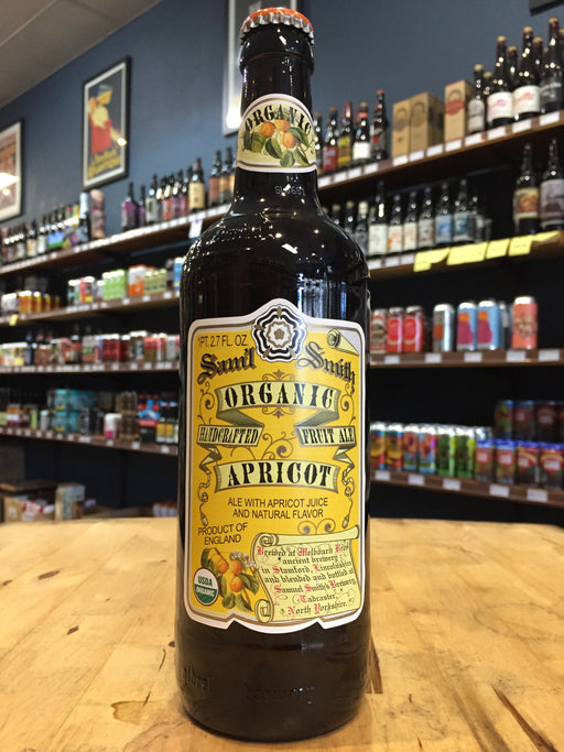 Samuel Smith Organic Apricot Fruit Beer 550ml