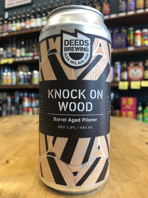Deeds Knock On Wood 440ml Can