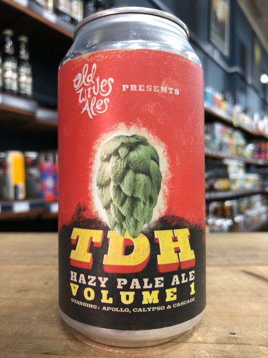 Old Wives Ales TDH Hazy Pale - Volume 1. 375ml Can