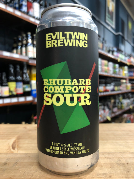 Evil Twin Rhubarb Compote Sour 473ml Can