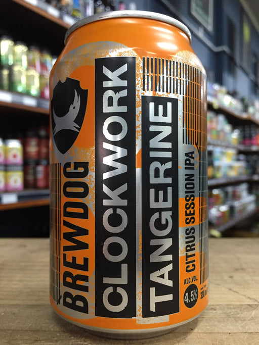 BrewDog Clockwork Tangerine 330ml Can