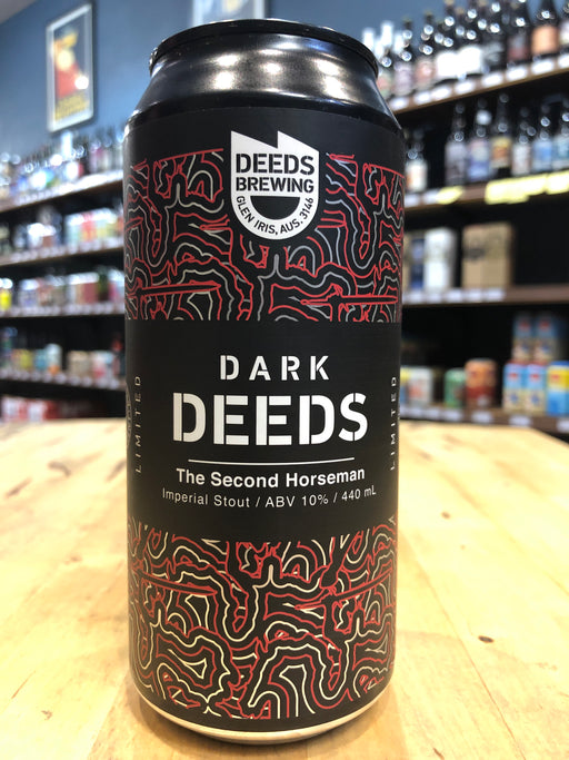 Dark Deeds The Second Horseman Imperial Stout 440ml Can
