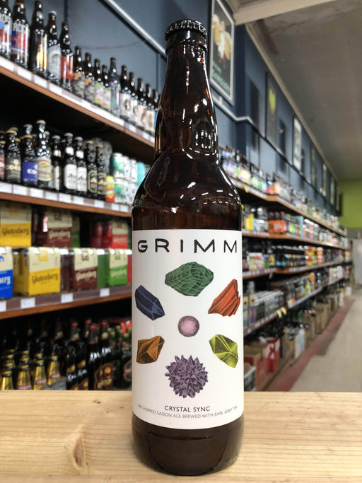 Grimm Crystal Sync Dry-Hopped Saison with Earl Grey Tea 650ml