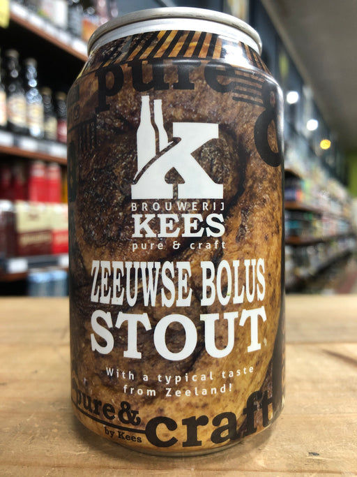 Kees Zeeuwse Bolus Stout 330ml Can