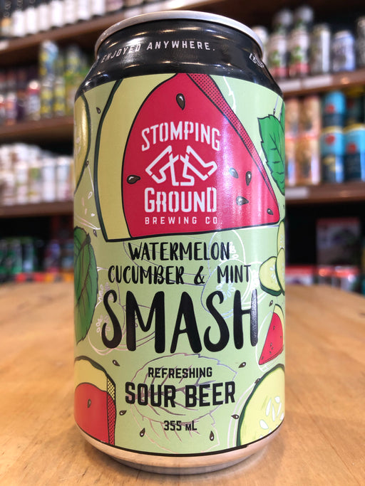 Stomping Ground Watermelon Cucumber Mint Smash 355ml Can