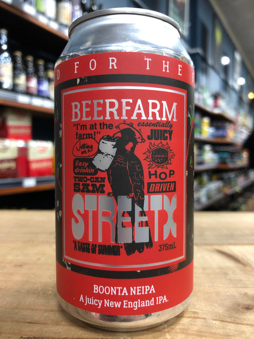 Beerfarm / Street X NEIPA 375ml Can