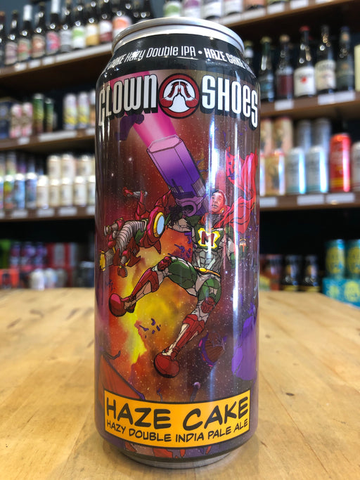Clown Shoes Haze Cake 473ml Can
