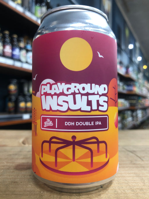 Mr Banks Playground Insults DDH Double IPA 355ml Can