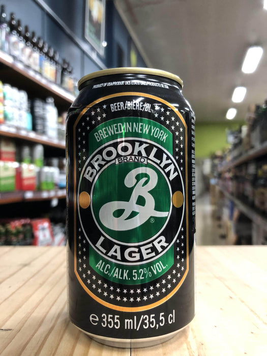 Brooklyn Lager 355ml Can - Purvis Beer