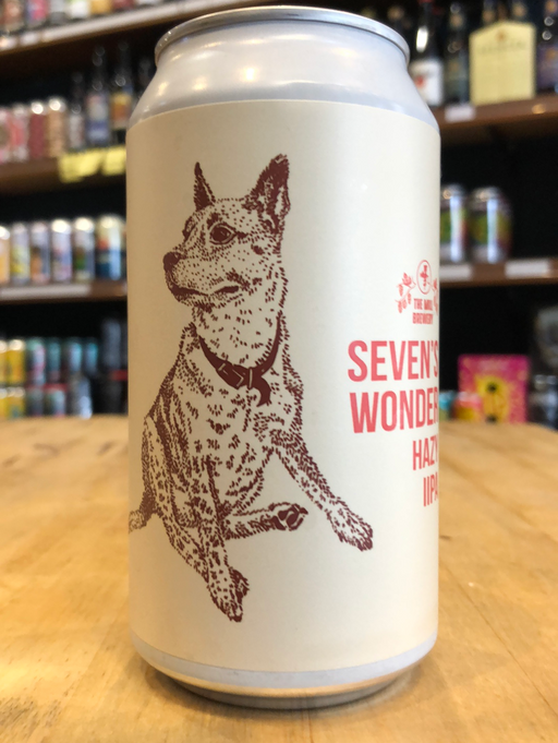 The Mill Seven's Wonder Hazy IIPA 375ml Can