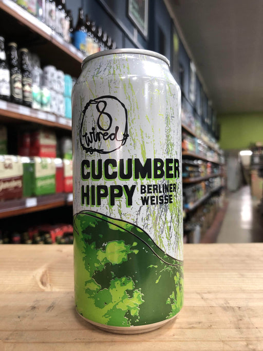 8 Wired Cucumber Hippy Berliner 440ml Can - Purvis Beer
