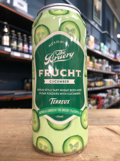 The Bruery Frucht: Cucumber (2019) 473ml Can