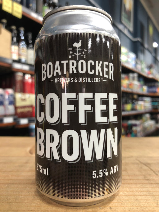 Boatrocker Coffee Brown 375ml Can