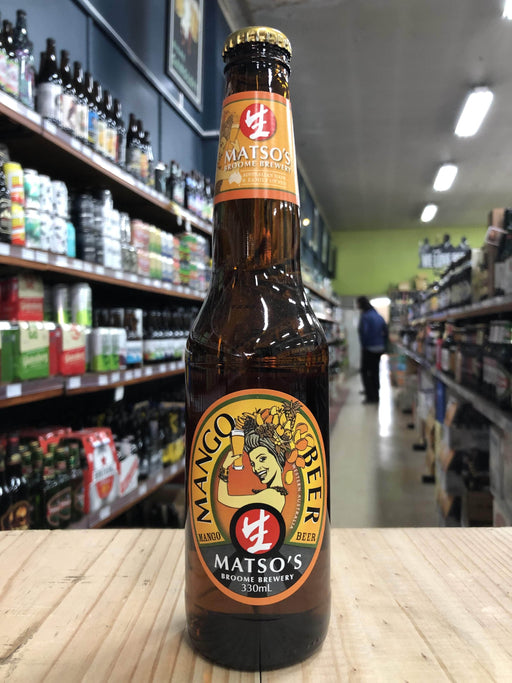 Matsos Brewery Mango Beer 330ml
