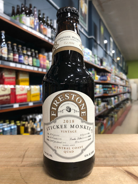 Firestone Walker Stickee Monkee 2018 375ml