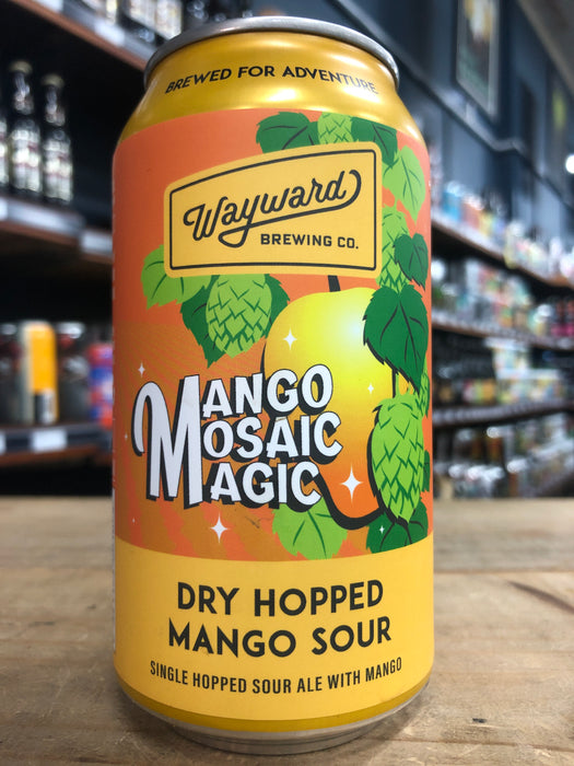 Wayward Mango Mosaic Magic 375ml Can