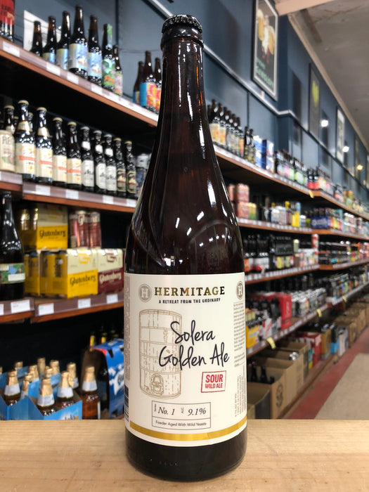 Hermitage Solera Golden Ale 750ml