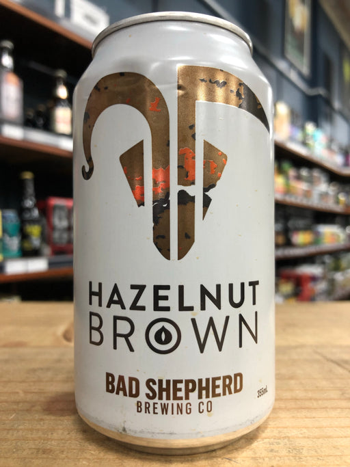 Bad Shepherd Hazelnut Brown 375ml Can