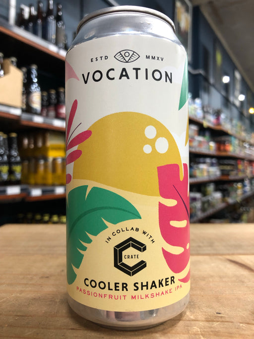 Vocation Cooler Shaker Passionfruit Milkshake IPA 440ml Can