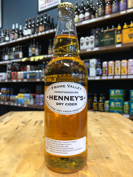 Henney's Fromme Dry Cider 500ml