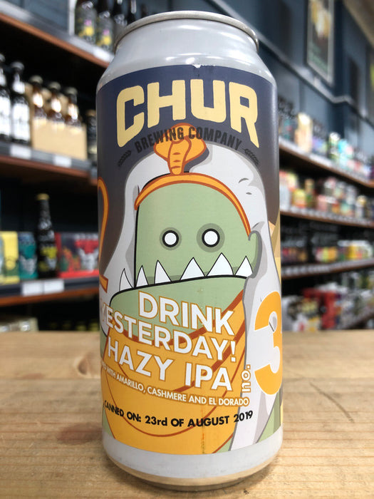 Chur Drink Yesterday Hazy IPA - No.3 440ml Can
