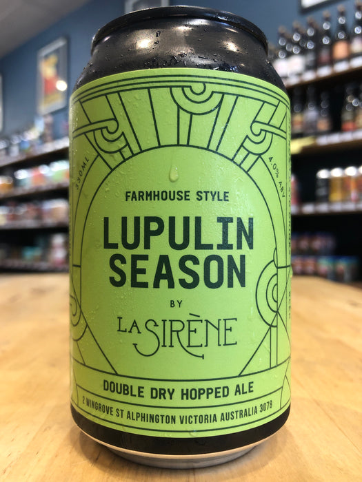 La Sirène Lupulin Season 330ml Can