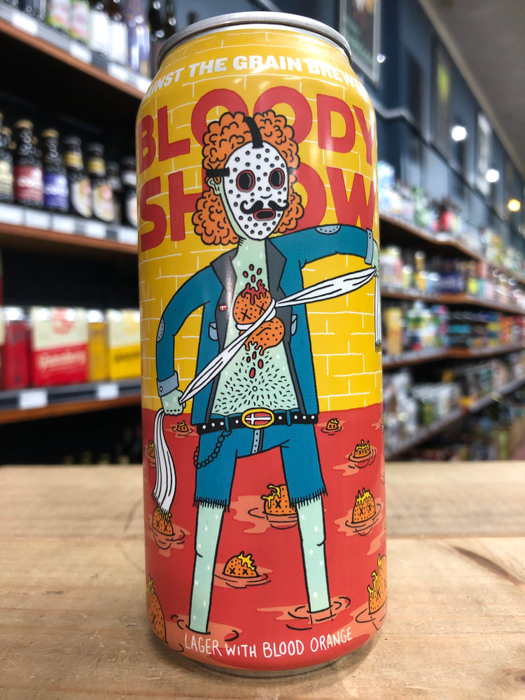 Against the Grain / Mikkeller Bloody Show 473ml Can