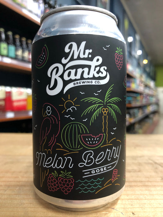 Mr Banks Melon Berry Gose 355ml Can