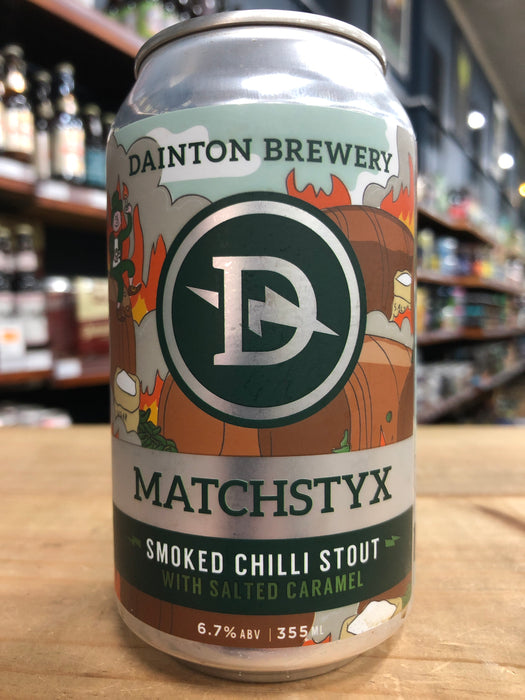 Dainton Matchstyx Smoked Chilli Stout 355ml Can