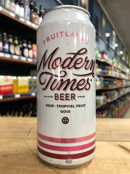 Modern Times Fruitlands - Passion Fruit & Guava 473ml Can