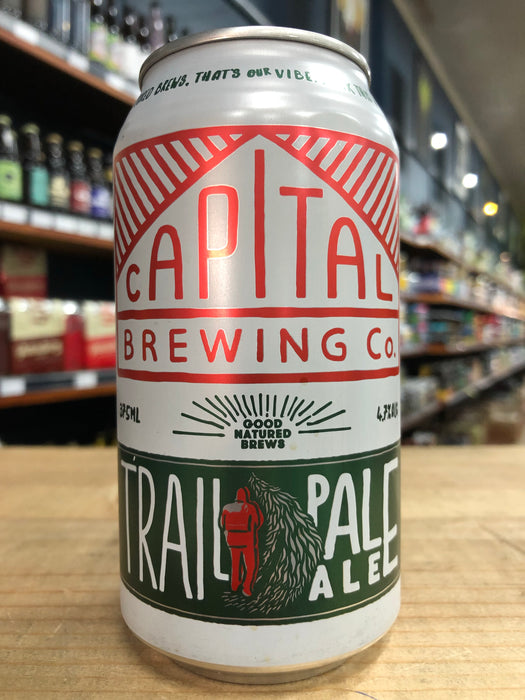 Capital Trail Pale Ale 375ml Can