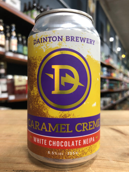 Dainton Caramel Creme White Chocolate NEIPA 355ml Can