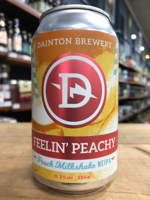 Dainton Feelin' Peachy Peach Milkshake NEIPA 355ml Can