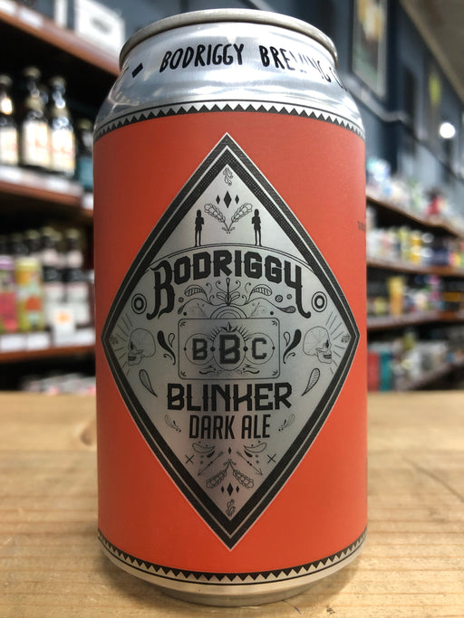 Bodriggy Blinker English Dark Ale 355ml Can