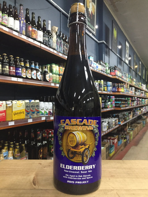 Cascade Elderberry 750ml