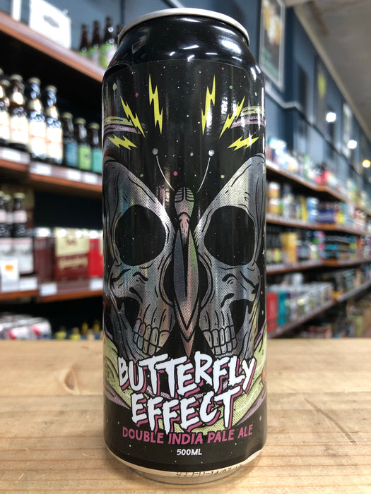 Newstead / Kaiju! Butterfly Effect Double IPA 500ml Can