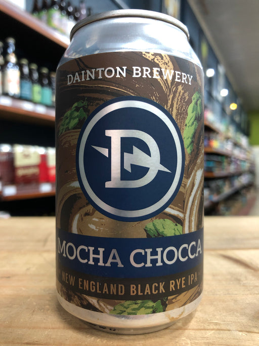 Dainton Mocha Chocca New England Black Rye IPA 355ml Can