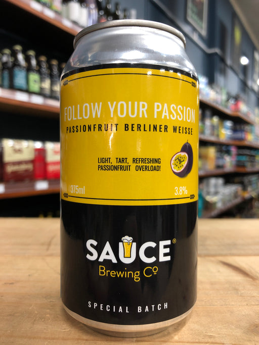 Sauce Follow Your Passion Berliner 375ml Can