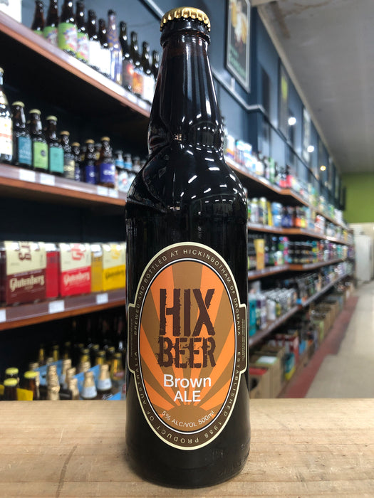 Hickinbotham Hix Brown Ale 500ml