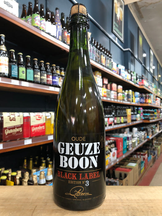 Boon Oude Geuze Black Label 750ml