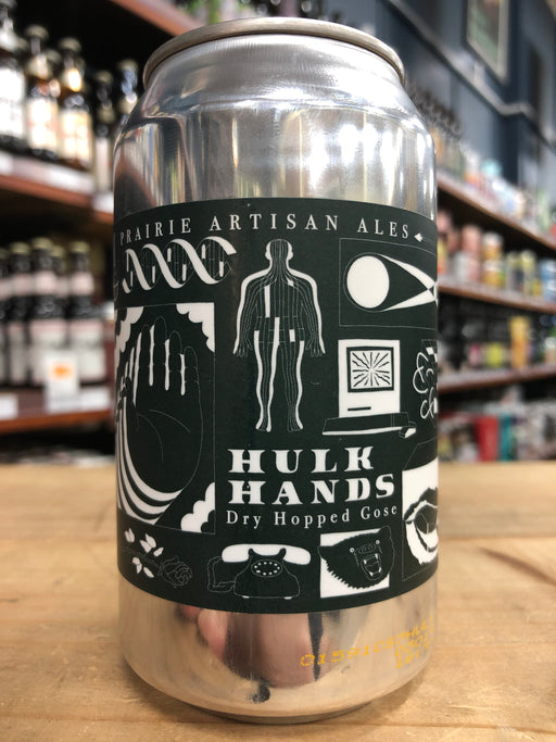 Prairie Hulk Hands Dry Hopped Gose 355ml Can