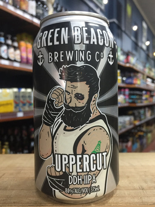 Green Beacon Uppercut Imperial IPA 375ml Can