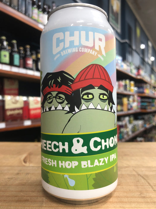 Chur Cheech & Chong Fresh Hop IPA 440ml Can