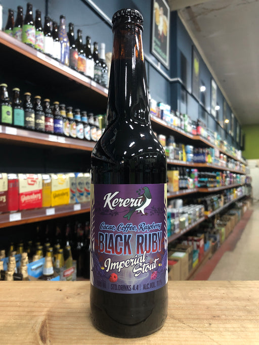 Kereru Black Ruby Imperial Stout 500ml