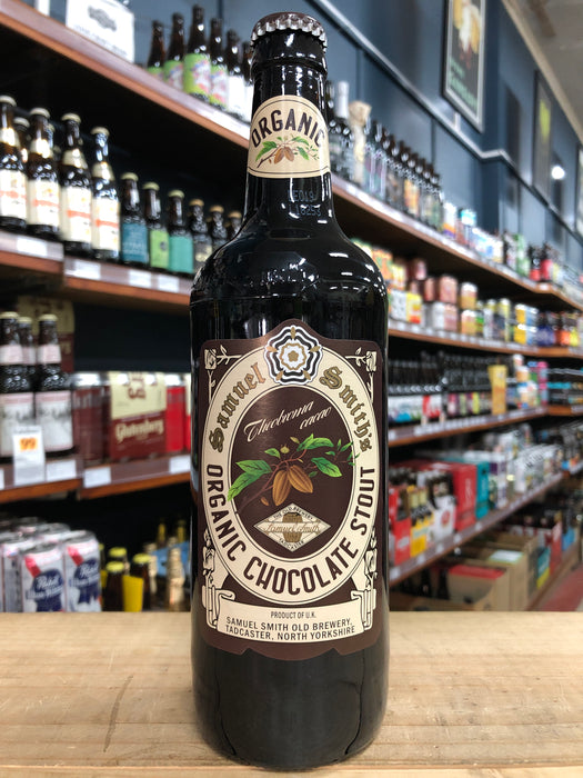 Samuel Smith Organic Chocolate Stout 550ml