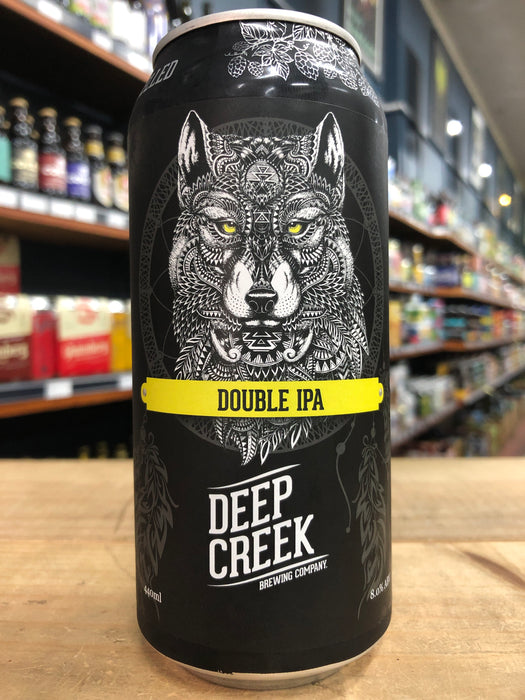 Deep Creek Courage - Double IPA (Totem Project) 440ml Can