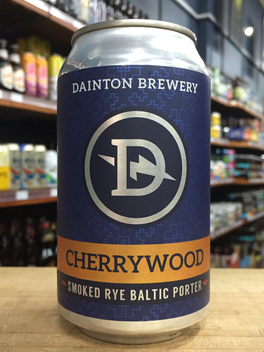 Dainton Cherrywood Smoked Rye Baltic Porter 355ml Can
