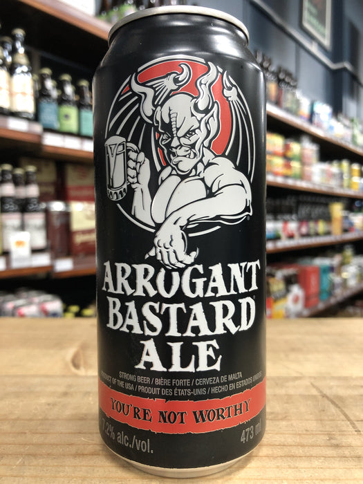 Arrogant Bastard Ale 473ml Can